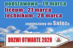 DRZWI O OTWARTE W SALEZIE 2020